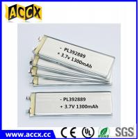 Wholesale PL392889 3.7V 1300mAh lithium polymer battery from china suppliers