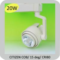 Wholesale 20w cob dimmable led track lighting residential CE, RoHS from china suppliers