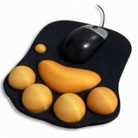 Wholesale Mouse Pad, Measuring 220 x 180 x 2mm, Made of Neoprene and Cloth from china suppliers