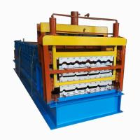 Buy cheap Corrugated Aluminum Roof Panel Wall Cladding Roll Forming Machine from wholesalers