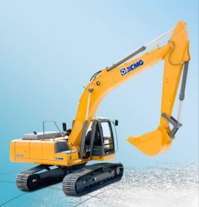 Wholesale 1.1m3 Bucket capacity XCMG 23.5 ton Hydraulic Crawler Excavator XE235C with ISUZU engine from china suppliers