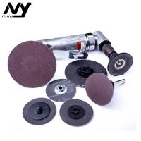 China Surface Conditioning Roloc Abrasive Disc  2 Inch  Resin Bonded To The Backing on sale