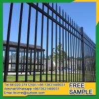 Wholesale Jacksonville wrought iron fence toppers Weymouth steel railings from china suppliers