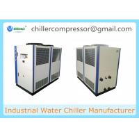 Wholesale 20HP Seawater Cooling Air Cooled Water Chiller Unit Best Price from china suppliers