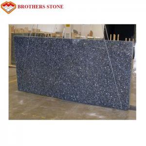 China Custom Size Polished Granite Stone , Norwegian Blue Pearl Granite Slabs Tiles on sale