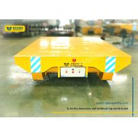 Wholesale Shipyard use motorized towed rail transfer platform cart on ramp from china suppliers