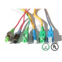 MM OM4 Simplex Fiber Optic Patch Cord 2mm With SC-APC Connector , ROHS Standard
