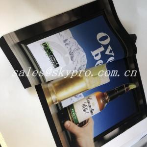Quality ROHS Standard Neoprene Fabric Roll Bar Mats 3D Logo Custom Printing for sale