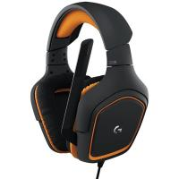 Buy cheap 90dB Around Ear Headphones Logitech G231 Prodigy With Folding Unidirectional Mic from wholesalers