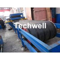 China PU Insulated Sandwich Panel Forming Machine With Double Belt Drive Type , Cooling System on sale
