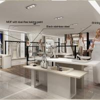 China Interior design retail clothes shop counters for sale on sale
