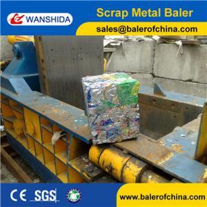 Wholesale Wanshida Aluminium Beverage Cans Baling Machine from China Factory from china suppliers