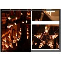 Wholesale Home LED Curtain Christmas Lights 0.7m Strings Stars Shaped Decoration from china suppliers