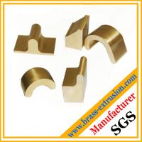 OEM manufacturer Brass sanitary parts extrusion profile for bathroom