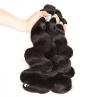 Can Be Dyed High Quality Top Grade 100 Human Unprocessed Wavy Human Hair for sale