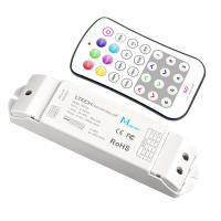 China 12v Rgb LED Strip Controller With Dimming / Color Temperature Control on sale