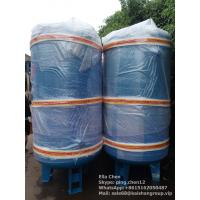 Wholesale Vertical Type Nitrogen Air Compressor Tank 2m3 10 Bar Pressure Carbon Steel Air Tank from china suppliers