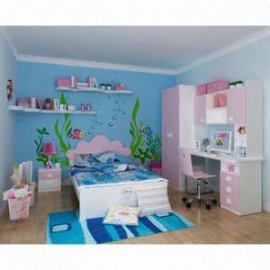 Wholesale E0 Grade Kids'/Children's Bedroom Furniture/Wood Furniture/Mermaid Kid's Bedroom Set from china suppliers