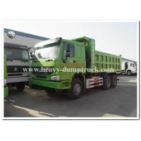 Buy cheap HOWO  336 hp new condition diesel fuel type dump truck with Q345 Steel heavy tipper from Wholesalers