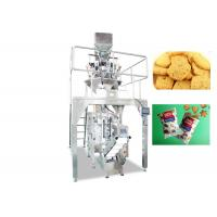 220V / 380V Cookies Food Pouch Packaging Machines / Food Packaging Equipment