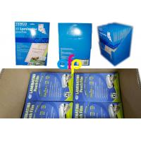 Wholesale Customized Packing 5mil 125micron A4 Glossy PET Polyester Pouch Laminating Film for Documents Photos Protection from china suppliers