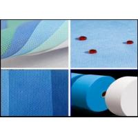 Wholesale Polypropylene SMS Nonwoven Fabric / Spunbond Non Woven Fabric 160cm 240cm 320cm from china suppliers