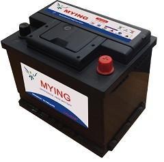55559 55AH Maintenance Free Car Battery High CCA PP Alloyed Lead Material