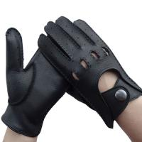 Buy cheap Unisex Leather Driving Gloves Without Lining Comfortable Simple Classic Style from wholesalers