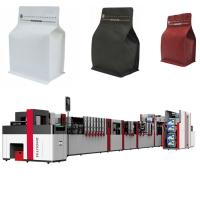 Wholesale Laminated Film Flat Bottom Pouch Making Machine 650mm Width High Speed from china suppliers