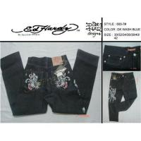 China Ed hardy jeans for men on sale