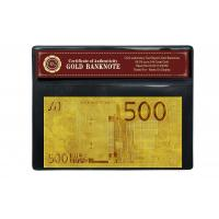 China 50 euro 24K Gold Foil 2 sided Euro Banknote on sale