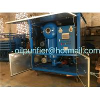 China Vacuum Transformer Oil Treatment Plant, Switchgear Oil Processing Equipment, Oil Reconditioning Device on sale