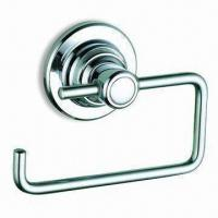 Wholesale Toilet Paper Holder without Cover and Suction Cup System, Made of ABS/PVC/Stainless Steel from china suppliers