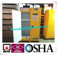 Wholesale Flammable Filtered Safety Cabinets with ductless filtration and ventilation system from china suppliers