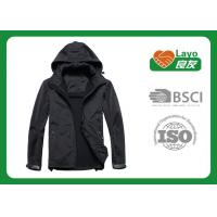 Comfortable Thin Outdoor Softshell Jacket For Fishing / Camping