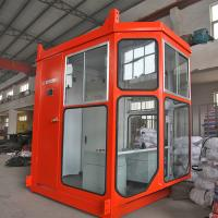 Wholesale Industrial Crane Spare Parts , Standard Size Crane Operator Cabin / Driving Cab from china suppliers