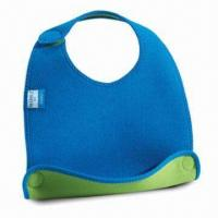Wholesale Baby Bib, Customized Designs are Accepted, Made of Neoprene from china suppliers