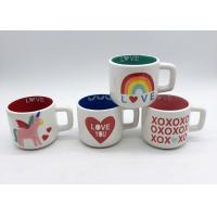 Wholesale Gifts Spot Decal 3d Ceramic Mug In 2 Tone Colors For Valentines ' S Day from china suppliers