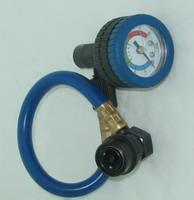 China 134a refrigeration Charging Gauge Kit ( Havc Recharge Hose) on sale