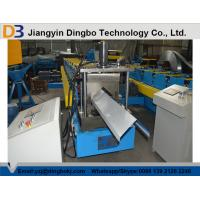 Wholesale High Precision Metal Roof Ridge Cap Roll Forming Machine With 5 Ton Decoiler from china suppliers
