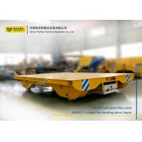 Wholesale Solid Railway Equipment Electric Flat Car for Material Transporting from china suppliers