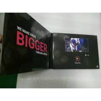 Buy cheap 2.4/4.3/5/7/10 Inch HD screen Video In Print Brochure , matte lamination color Cover from Wholesalers