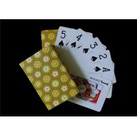China OEM Black Core Paper Custom Printed Playing Cards / Custom Deck of Cards Front and Back on sale