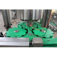 Wholesale Glass Bottle Capping And Labeling Machine , Liquid Filling And Capping Machine from china suppliers