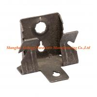 China Custom Size Spring Clip Clamp With 4mm Diameter Vertical Support For Slotted Bar on sale