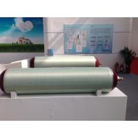 Portable CNG Tank , Compressed Natural Gas Powered Vehicles Fiberglass Holding Tanks