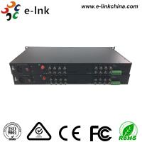 Wholesale 16 Channel AHD CVI TVI Over Fiber Converter Single Mode Or Multimode from china suppliers
