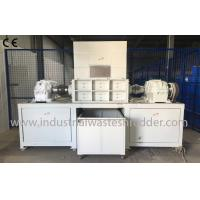 Wholesale Horizontal Small Water Bottle Shredder , Plastic Bottle Crusher Machine from china suppliers