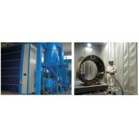 Wholesale High Efficiency Grit Blasting Room , Industrial Sandblast Cabinet Electric Control from china suppliers