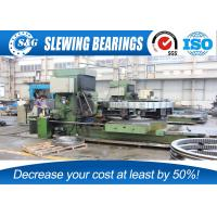 Wholesale Large Excavator Slew Ring Gears With Quadruple Loading Points from china suppliers